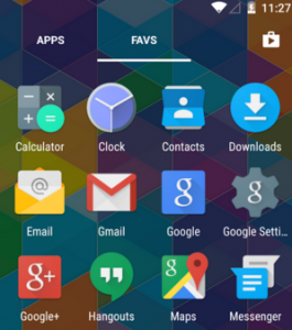 nova launcher apps and icons