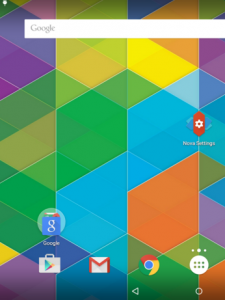 nova launcher colours