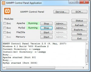 xampp web server