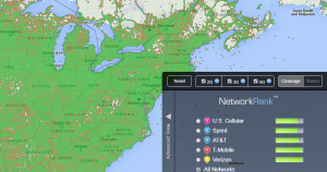 network coverage and network names